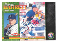 Michael Barrett Signed 1999 Pacific Omega Baseball Card - Montreal Expos - PastPros