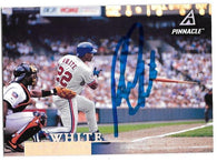 Rondell White Signed 1998 Pinnacle Baseball Card - Montreal Expos - PastPros