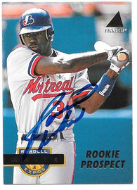 Rondell White Signed 1994 Pinnacle Baseball Card - Montreal Expos