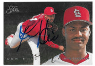Ken Hill Signed 1995 Flair Baseball Card - St Louis Cardinals - PastPros