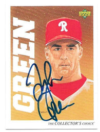 Tyler Green Signed 1992 Upper Deck Minors Baseball Card - Philadelphia Phillies