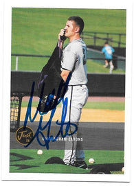 Matt Ginter Signed 2000 Just Baseball Card - Birmingham Barons - PastPros