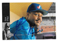 Ken Hill Signed 1994 Upper Deck Baseball Card - Montreal Expos - PastPros