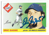 Eric Gagne Signed 2004 Topps Heritage Baseball Card - Los Angeles Dodgers
