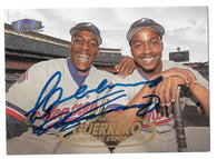 Vladimir & Wilton Guerrero Signed 1998 Fleer Tradition Baseball Card - Montreal Expos