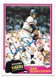 Ken Clay Signed 1981 Topps Baseball Card - Seattle Mariners