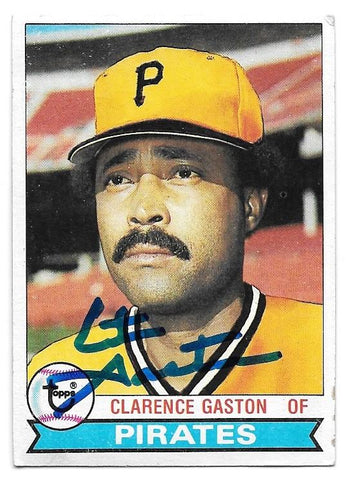 Cito Gaston Signed 1979 Topps Baseball Card - Pittsburgh Pirates - PastPros