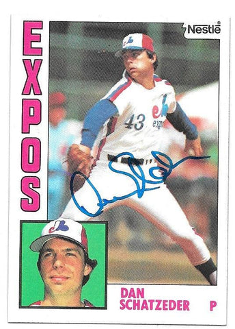 Jeff Huson Signed 1990 Upper Deck Baseball Card - Montreal Expos - PastPros