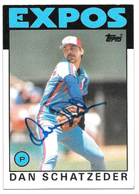 Mark Bailey Signed 1987 Topps Baseball Card - Houston Astros