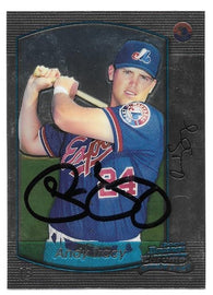 Andy Tracy Signed 2000 Bowman Chrome Baseball Card - Montreal Expos - PastPros
