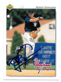 Robert Eenhoorn Signed 1992 Upper Deck Minors Baseball Card - New York Yankees - PastPros