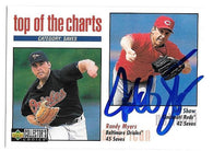 Jeff Shaw Signed 1998 Collector's Choice Baseball Card - Top of the Charts