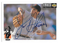 Jim Deshaies Signed 1994 Collector's Choice Baseball Card - San Francisco Giants