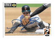 Darren Lewis Signed 1994 Collector's Choice Baseball Card - San Francisco Giants