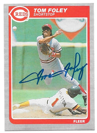 Mark Gardner Signed 1991 Topps Baseball Card - Montreal Expos