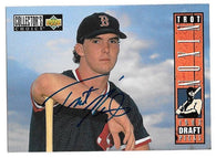 Trot Nixon Signed 1994 Collector's Choice Baseball Card - Boston Red Sox