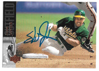 Stan Javier Signed 1994 Upper Deck Baseball Card - Oakland A's
