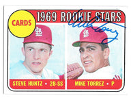 Mike Torrez Signed 1969 Topps Baseball Card - St Louis Cardinals