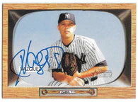 Javier Vazquez Signed 2004 Bowman Heritage Baseball Card - New York Yankees