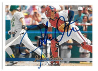 John Orton Signed 1993 Upper Deck Baseball Card - California Angels