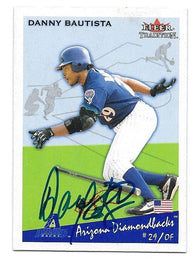 Danny Bautista Signed 2002 Fleer Tradition Baseball Card - Arizona Diamondbacks - PastPros