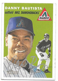 Danny Bautista Signed 2003 Topps Heritage Baseball Card - Arizona Diamondbacks - PastPros