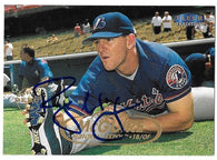 Ryan McGuire Signed 1998 Fleer Tradition Baseball Card - Montreal Expos