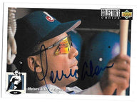 Moises Alou Signed 1994 Collector's Choice Baseball Card - Montreal Expos - PastPros