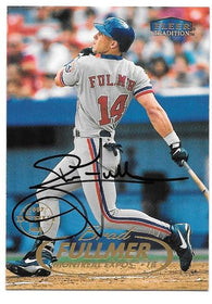 Brad Fulmer Signed 1998 Fleer Tradition Baseball Card - Montreal Expos