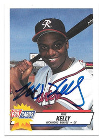 Darren Fletcher Signed 1992 Donruss Baseball Card - Philadelphia Phillies