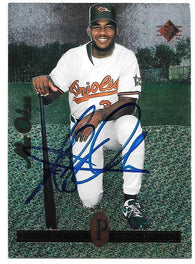 Alex Ochoa Signed 1994 SP Baseball Card - Baltimore Orioles