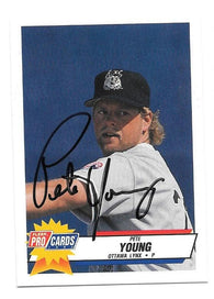 Cliff Brantley Signed 1992 Donruss Baseball Card - Philadelphia Phillies