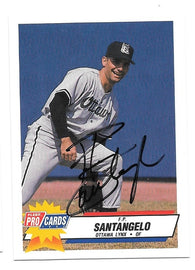 Mitch Webster Signed 1992 Donruss Baseball Card - Los Angeles Dodgers