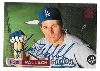 Tim Wallach Signed 1994 Topps Stadium Baseball Card - Los Angeles Dodgers