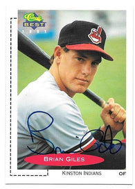 Brian Giles Signed 1991 Classic Best Baseball Card