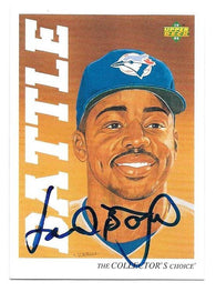 Howard Battle Signed 1992 Upper Deck Minors Baseball Card - Toronto Blue Jays