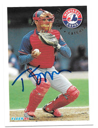 Tim Spehr Signed 1994 Fleer Baseball Card - Montreal Expos