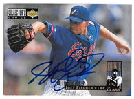 Joey Eischen Signed 1994 Collector's Choice Baseball Card - Montreal Expos