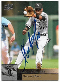 Alexei Ramirez Signed 2009 Upper Deck Baseball Card - Chicago White Sox