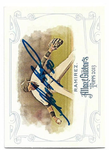 Alexei Ramirez Signed 2013 Allen & Ginter Baseball Card - Chicago White Sox - PastPros