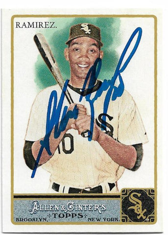 Alexei Ramirez Signed 2011 Allen & Ginter Baseball Card - Chicago White Sox