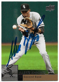 Alexei Ramirez Signed 2009 Upper Deck Baseball Card - Chicago White Sox - PastPros