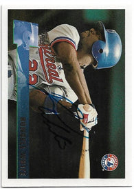 Rondell White Signed 1996 Topps Baseball Card - Montreal Expos - PastPros