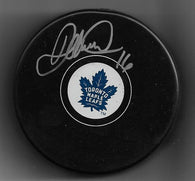 Darcy Tucker Signed Hockey Puck - Toronto Maple Leafs