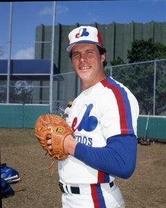 Dave Palmer Signed 8x10 Color Photo - Montreal Expos