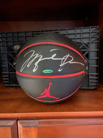 Michael Jordan Signed Basketball - Autograph