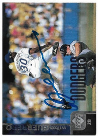 Wilton Guerrero Signed 1998 Upper Deck Baseball Card - Los Angeles Dodgers