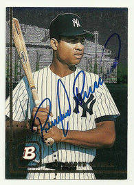 Ruben Rivera Signed 1994 Bowman Baseball Card - New York Yankees