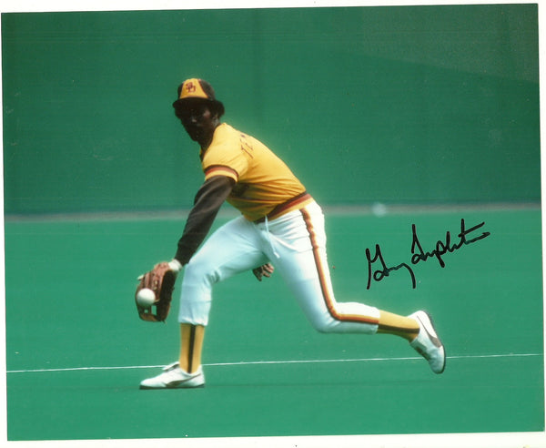 Garry Templeton Signed 8x10 Color Photo - San Diego Padres