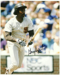 Garry Templeton Signed 8x10 Color Photo - San Diego Padres - PastPros